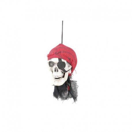Calavera Pirata con Parche
